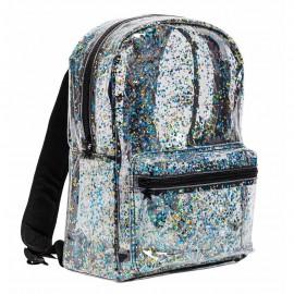 Backpack - Glitter black