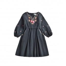 Dress Lexia - charcoal