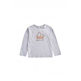 Tee Abi - Heather Grey
