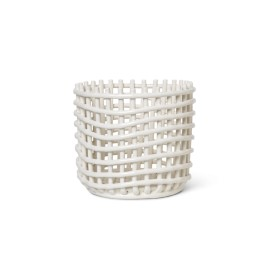 Ceramic basket large