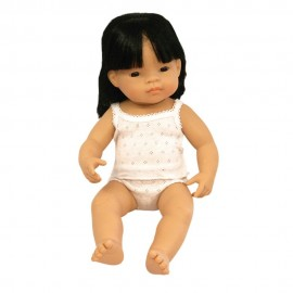 BABY DOLL ASIAN GIRL 38CM