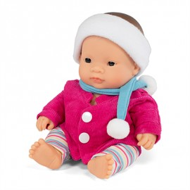 BABY DOLL HISPANIC BOY 21CM + Clothes