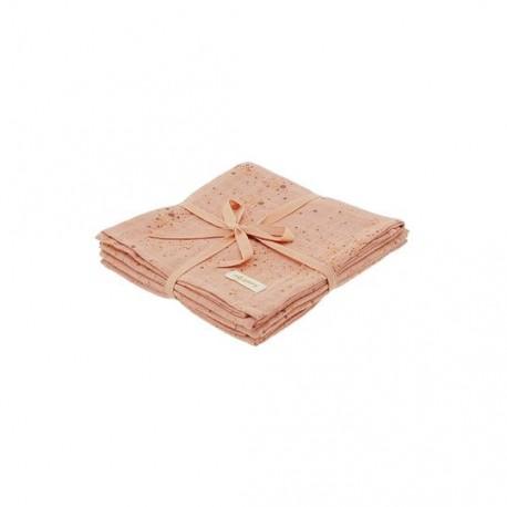 Muslin Splash perfect peach 3 pack