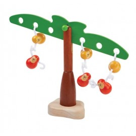 The balancing monkeys