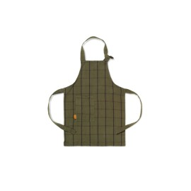Kid's apron - green/black