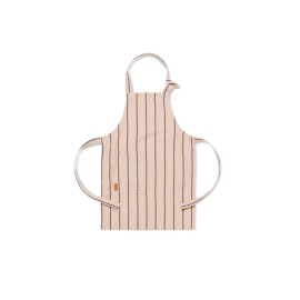 Kid's apron - rose/blue