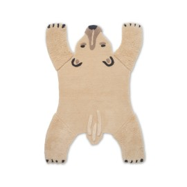 Animal tufted rug - polar bear