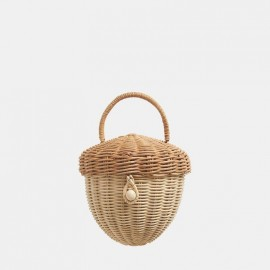 Acorn Basket Bag