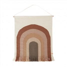Follow the rainbow wall rug - choko