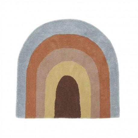 Rainbow rug - multi