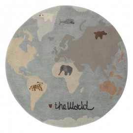 The world tufted rug