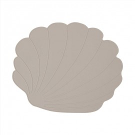 Placemat Seashell - clay