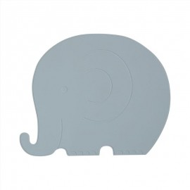 Placemat Henry Elephant - pale blue