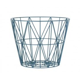 Wire Basket -Petrol-Medium