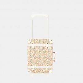 NEW See Ya Suitcase - prairie floral