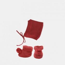 Dinkum knit set - plum