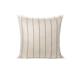 Calm cushion- Camel/Black