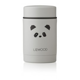 Nadja food jar - Panda light grey
