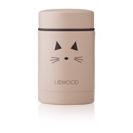 Nadja food jar - Cat rose