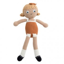 Crochet doll - Camille