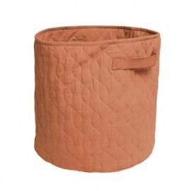 Quilted basket, 48 l., sweet tea brown