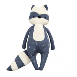 Soft toy, Rebel the racoon, Woodland, bramble blue