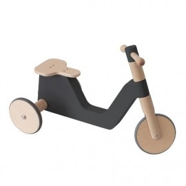 The Sebra scooter, classic black