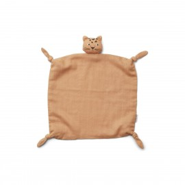 Agnete cuddle cloth- Leopard apricot