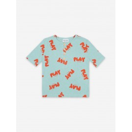 Play all over buttoned T-shirt
