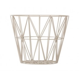 Wire Basket Yellow - Small