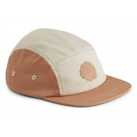 Rory cap - seashell Tuscany rose