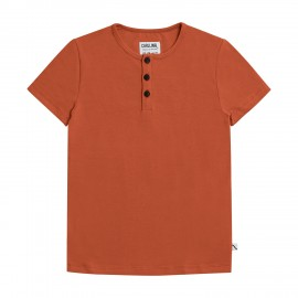 Basics - henley short sleeves