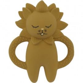 TEETH SOOTHER LION - MUSTARD