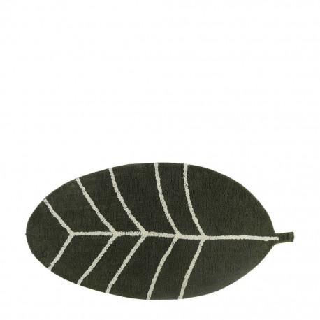 Rug Leave green