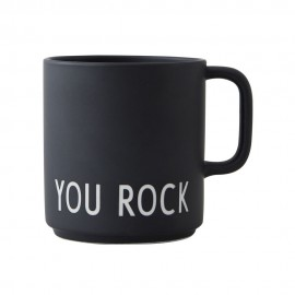 Favourite cup with handle YOU ROCK