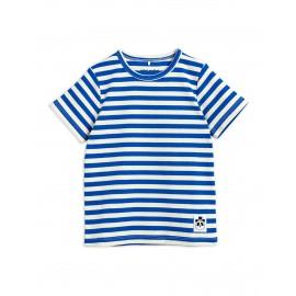 Stripe Ribbed T-shirt