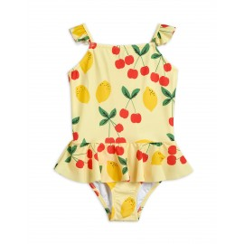 Cherry Lemonade UV Swimsuit With Skirt