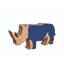 DIY Animal Figure - Rhino