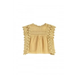 Blouse Adolio - soft honey