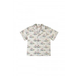 Shirt Alov - off-white Hawaii