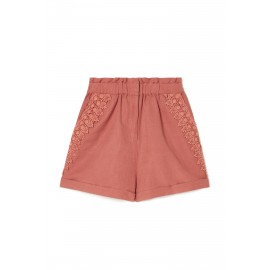 WOMEN shorts Anton - terracotta