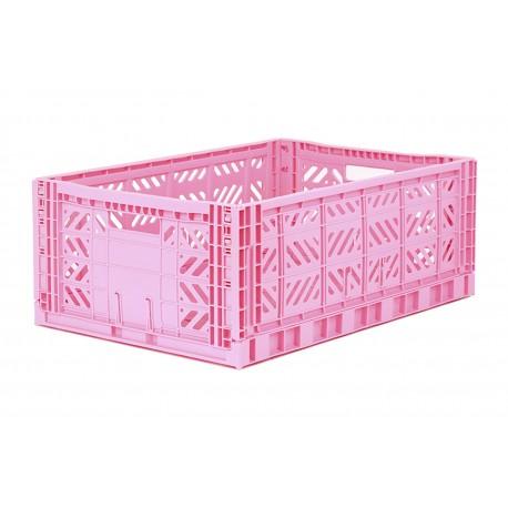 Aykasa folding crate - Maxi baby pink