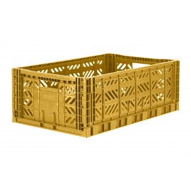 Aykasa folding crate - Maxi mustard