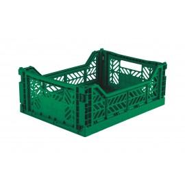 Aykasa folding crate - Midi dark green