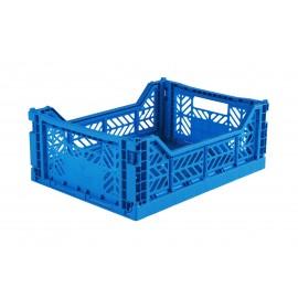 Aykasa folding crate - Midi electric blue