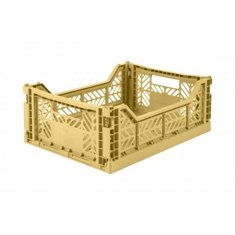 Aykasa folding crate - Midi gold
