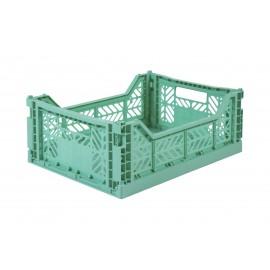 Aykasa folding crate - Midi mint
