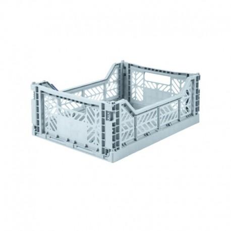 Aykasa folding crate - Midi pale blue