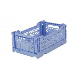 Aykasa folding crate - mini baby blue