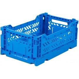Aykasa folding crate - mini electric blue